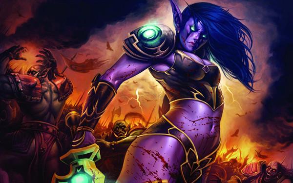 《魔兽世界》最新剧情CG发布:女王黑化 萨尔出山
